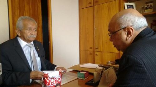 Com deputado federal Chico Lopes (PCdoB-CE)