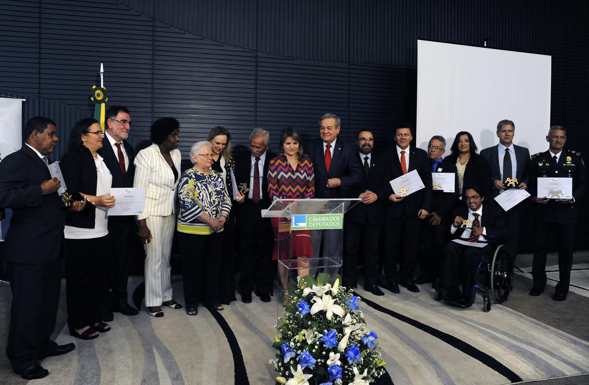 Cerimônia de entrega do Prêmio